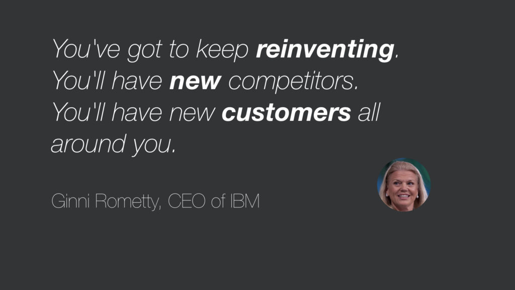 Ginni Rometty on Competitors