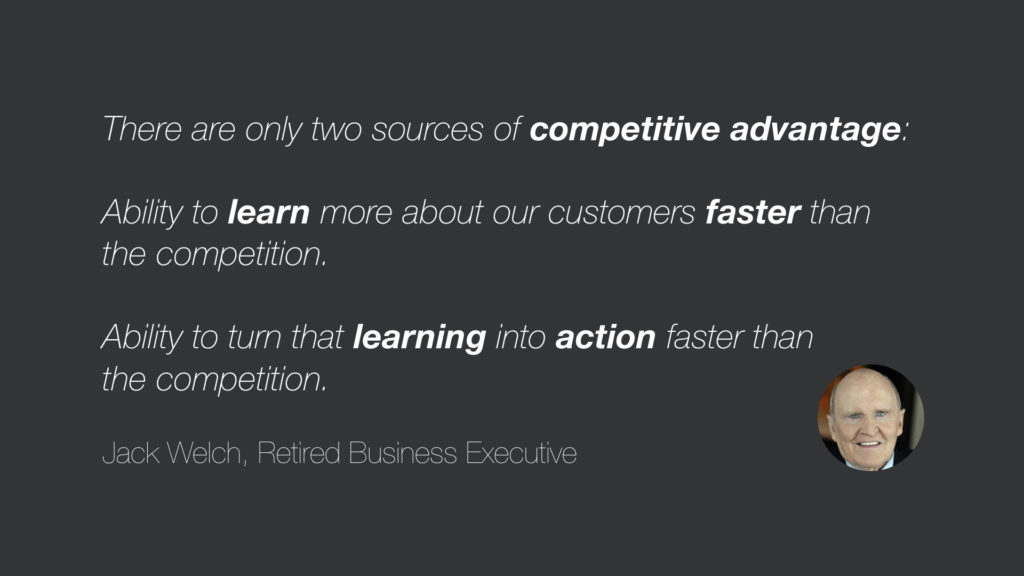 Two sources of competitive advantage